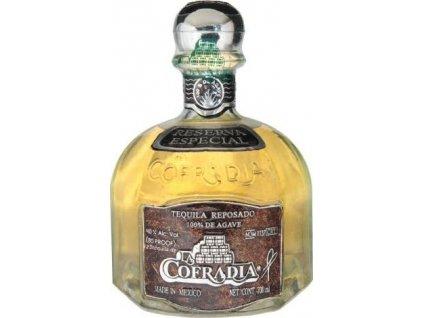 La Cofradia reposado 100% de agave 38%, tequila 0,7L
