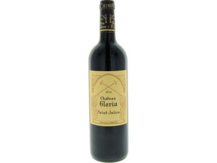 Bordeaux Château GLORIA, AOC, ST.-JULIEN AOC, r2014, víno, červené, suché 0,75L