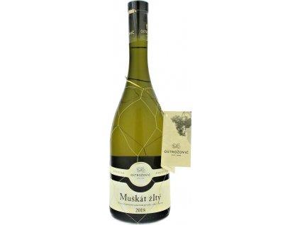 J&J Ostrožovič Special Collection Muškát žltý, Tokaj, r2018, víno s prívlastkom-výber z hrozna, biele, polosladké 0,75L