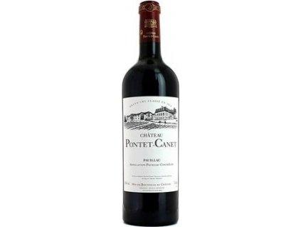 Bordeaux Château Pontet-Canet, AOC, Grand Cru Classé, PAUILLAC AOC, r2016, víno, červené, suché 0,75L