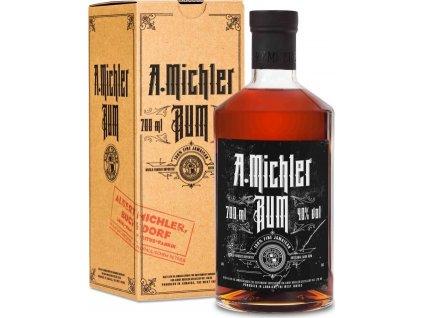 Albert Michler Artisanal Dark Rum darčekové balenie