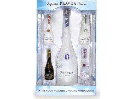 Pravda Vodka Gift Set - darčekové balenie
