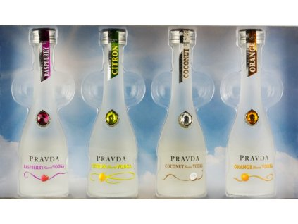 Pravda Vodka Mini Set 4 x 0,05l
