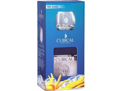 Cubical Premium s pohárom