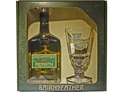 Bairnsfather Absinth 0,5l s pohárom a lyžičkou