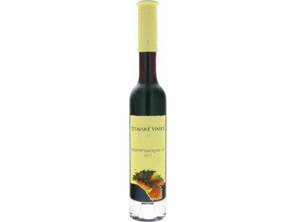 Žitavské vinice Cabernet Sauvignon 49, Nitrianska oblasť, r2011, akostné víno, červené, sladké 0,2L