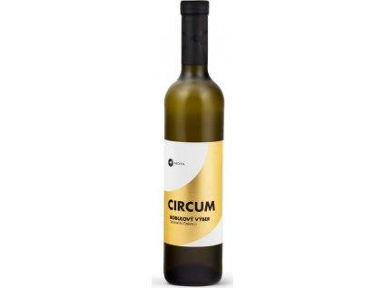 Nichta Circum Tramín červený, Nitrianska oblasť, r2015, víno s prívlastkom-bobuľový výber, biele, sladké 0,5L