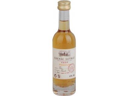 Leyrat Cognac VSOP Premium 40%, koňak 0,05L