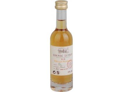 Leyrat Cognac XO Vieille Réserve 40%, koňak 0,05L
