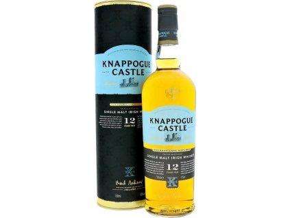 Knappogue Castle 12YO Irish whisky 43,0%, whisky, darčekové balenie 0,7L