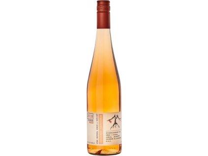 VÍNO NATURAL Domin & Kušický Cabernet Sauvignon Rose BIO, Stredoslovenská oblasť, r2018, víno s prívlastkom-výber z hrozna, ružové, polosuché, Screw cap 0,75L