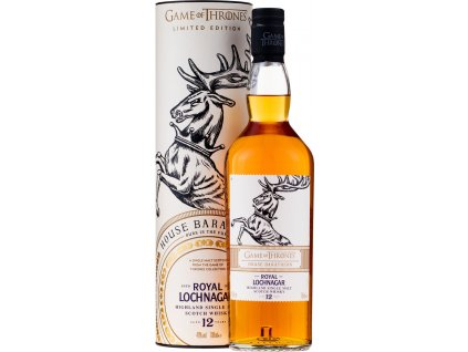 House Baratheon & Royal Lochnagar 12 ročná - Game of Thrones Single Malts Collection