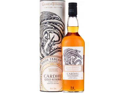 House Targaryan & Cardhu Gold Reserve - Game of Thrones Single Malts Collection