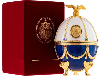 Carskaja Imperial Collection Faberge Pearl and Sapphire