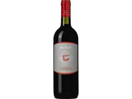La Braccesca Sabazio Rosso di Montepulciano, DOC, Tuscany, iné, r2018, víno, červené, suché 0,75L