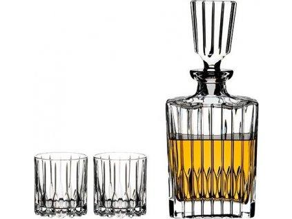 Riedel Neat spirits SET (2poháre + 1 karafa) 5460/52