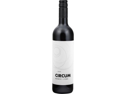 Nichta Circum Frankovka modrá, Nitrianska oblasť, r2018, akostné víno, červené, suché 0,75L