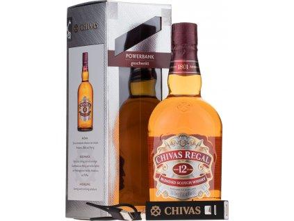 Chivas Regal 12 Y.O. + powerbank