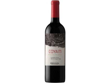 Emiliana Coyam BIO, Colchagua Valley, r2016, víno, červené, suché 0,75L