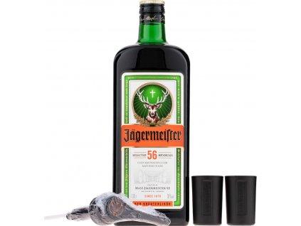 Jägermeister Party Pack 1,75l + 2 poháre + pumpa