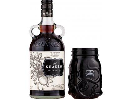Kraken Black Spiced Rum + pohár