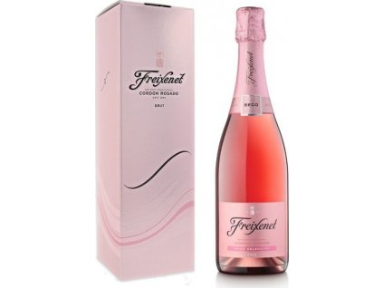 Freixenet Cordon Rosado Seco, DO, Cava DO, šumivé víno, sekt, tradičná metóda, ružové, seco, darčekové balenie 0,75L