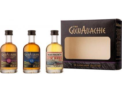 The GlenAllachie Mini set 3 x 0,05l