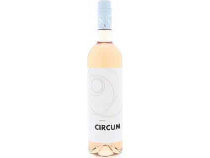 Nichta Circum Frankovka modrá Rosé, Nitrianska oblasť, r2019, akostné víno, ružové, polosladké 0,75L