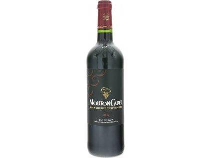 Rothschild Mouton Cadet Rouge, AOC, BORDEAUX AOC, r2017, víno, červené, suché 0,75L