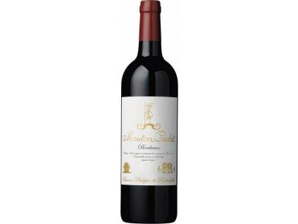 Mouton Cadet Edition Vintage, AOC, BORDEAUX AOC, r2017, víno, červené, suché 0,75L