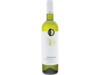 Vinidi Soleil Sauvignon, Nitrianska oblasť, r2019, akostné víno, biele, suché, Screw cap 0,75L