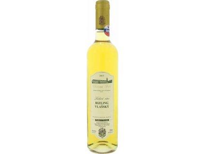Château Belá Rizling vlašský, Južnoslovenská oblasť, r2015, víno s prívlastkom-ľadový zber, biele, sladké 0,5L