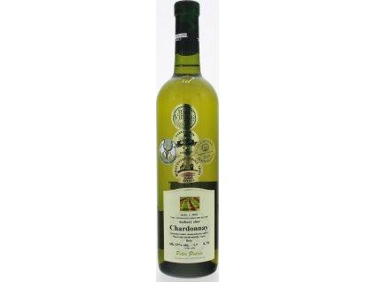 Peter Podola Chardonnay, Južnoslovenská oblasť, r2018, víno s prívlastkom-neskorý zber, biele, suché 0,75L