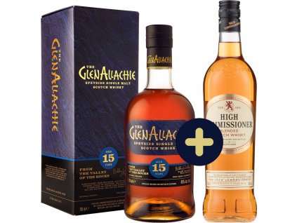 GlenAllachie 15 Y.O. + High Commissioner FREE