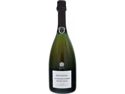 Champagne Bollinger La Grande Année Rosé Brut, AOC, Champagne, r2012, šampanské, ružové, brut 0,75L