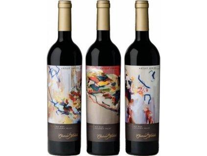 Chateau Ste.Michelle Artist Series Red Blend 3x0,75L, Columbia Valley, r2014, víno, červené, suché, darčekové balenie 2,25L