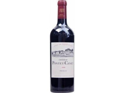 Bordeaux Château Pontet-Canet, AOC, Grand Cru Classé, PAUILLAC AOC, r2010, víno, červené, suché 0,75L
