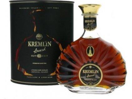 Kremlin Award 20 years old 40%, brandy, darčekové balenie 0,7L
