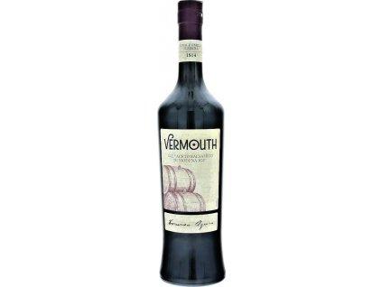 Casoni Vermouth aceto balsamico di Modena IGP 18%, Taliansko, fortifikované víno, červené 0,75L
