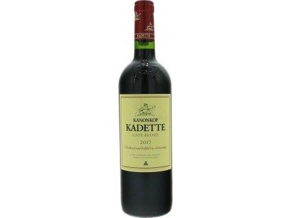 Kanonkop Kadette Cape Blend, Stellenbosch, r2017, víno, červené, suché 0,75L