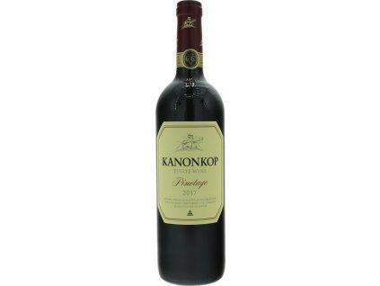 Kanonkop Pinotage Estate, Stellenbosch, r2017, víno, červené, suché 0,75L