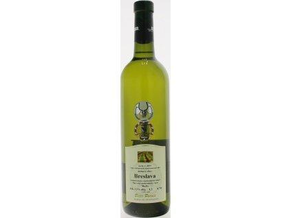 Peter Podola Breslava, Južnoslovenská oblasť, r2019, víno s prívlastkom-neskorý zber, biele, suché 0,75L