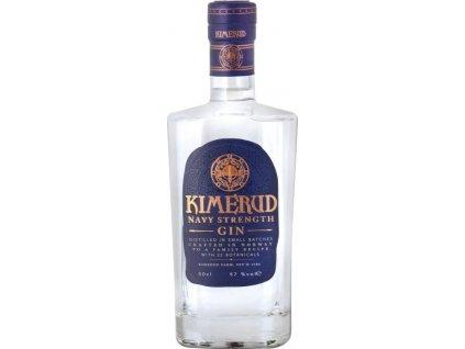 Kimerud Navy Strength Gin 57%, gin 0,5L