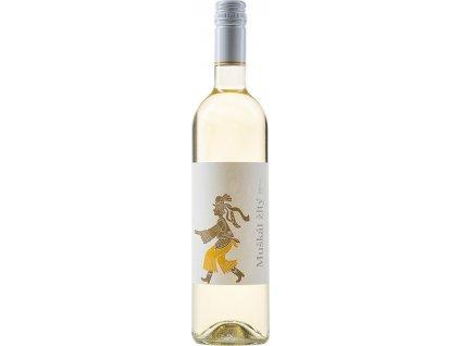 Vladimír Hronský Muškát žltý, Tokaj, r2019, akostné víno, biele, polosladké, Screw cap 0,75L
