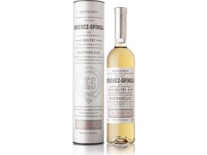 Ximénez-Spínola Brandy Battonage 2018 40%, brandy de Jerez, darčekové balenie 0,7L