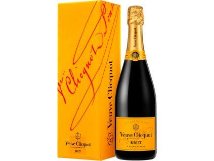 Veuve Clicquot Ponsardin Brut, AOC, Champagne, šampanské, biele, darčekové balenie 0,75L