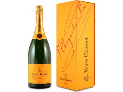 Veuve Clicquot Ponsardin Brut, Magnum, AOC, Champagne, šampanské, biele, brut, darčekové balenie 1,5L