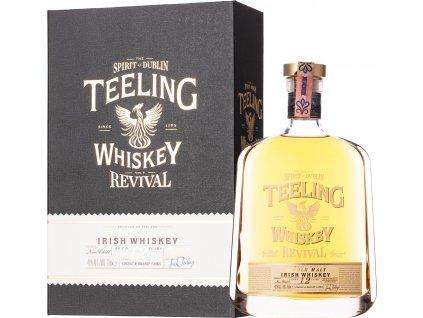 Teeling 12 Y.O. - The Revival V Cognac & Brandy Casks