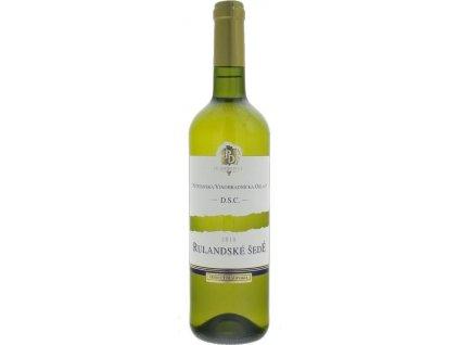 PD Mojmírovce Rulandské šedé, Nitrianska oblasť, r2018, akostné víno, biele, suché 0,75L