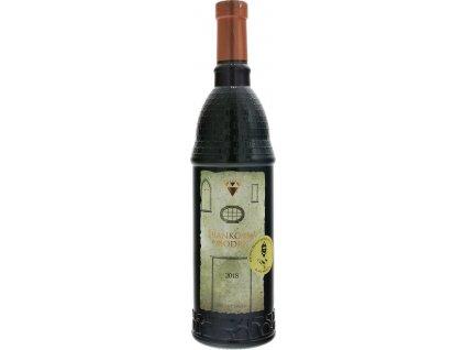 Masaryk Frankovka modrá, Malokarpatská oblasť, r2018, víno s prívlastkom-neskorý zber, červené, suché 0,75L